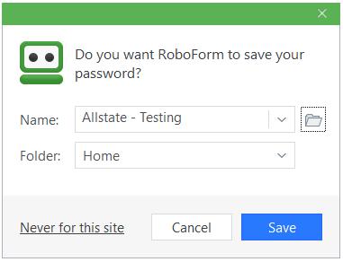 RoboForm Files – RoboForm