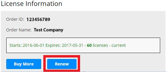 Roboform order id