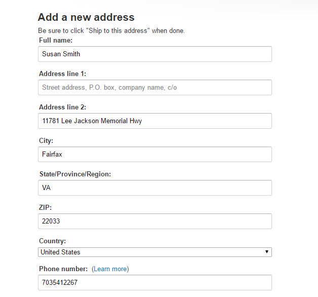 Online checkout forms: form filling from an Identity – RoboForm