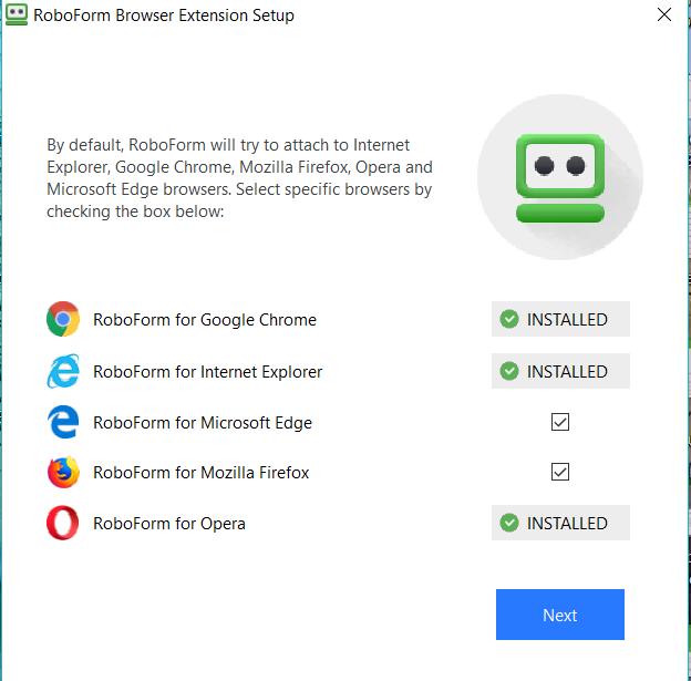 RoboForm 8 (Windows): Installation and setup – RoboForm