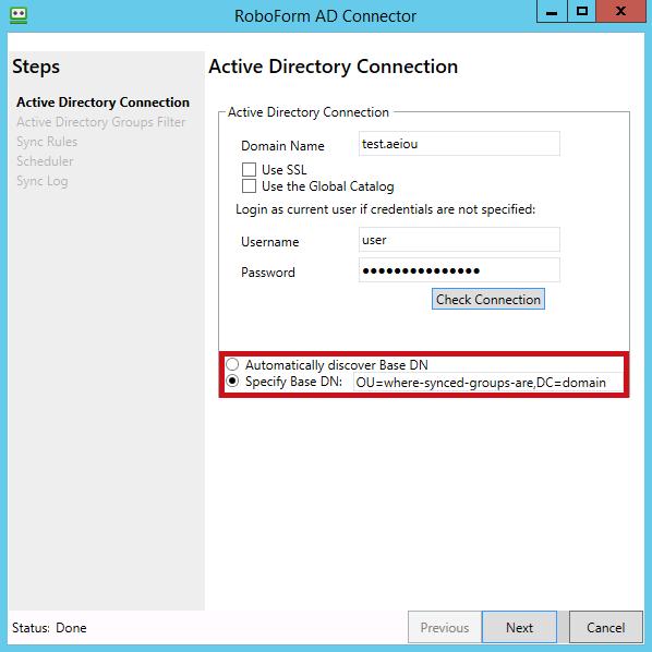 Active Directory Integration – RoboForm