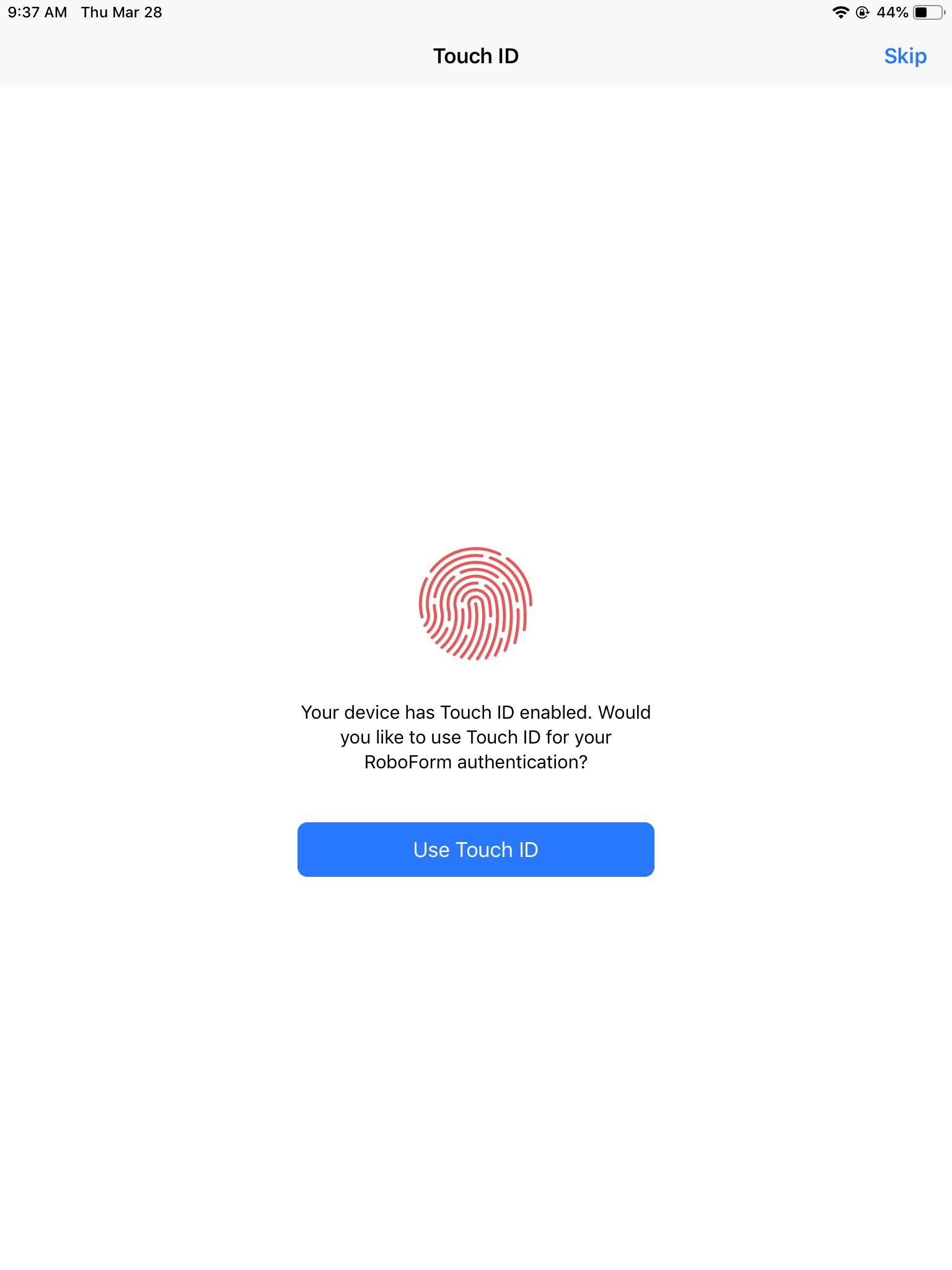 Installing RoboForm on iOS – RoboForm
